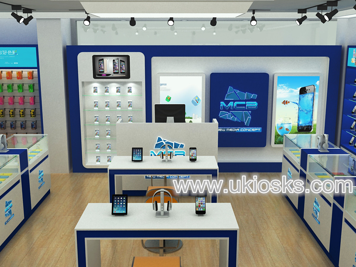 New Design Cell Phone Shop Furniture Accessories Retail Store Display