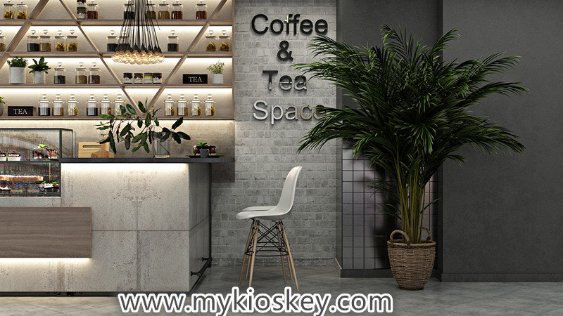 coffee shop counter design
