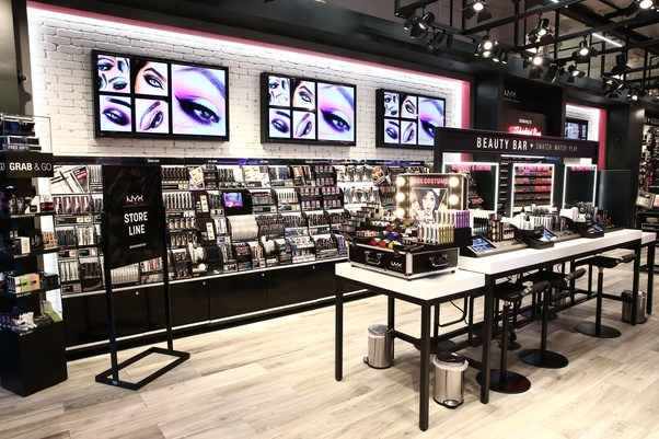 Share Some Successful Cosmetic Store Fixtures Design