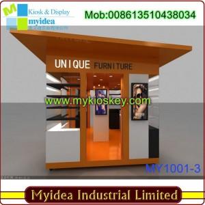 outdoor service kiosk