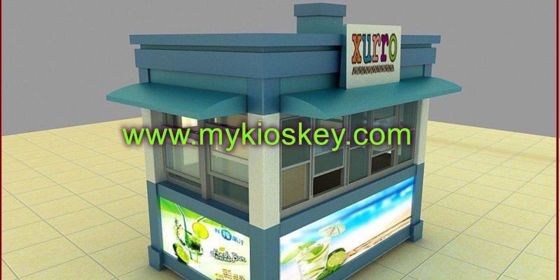 Xurro outdoor food kiosk street fast food kiosk desgin for