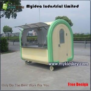 Fiberglass food trailer