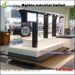 Shoe toys display kiosk