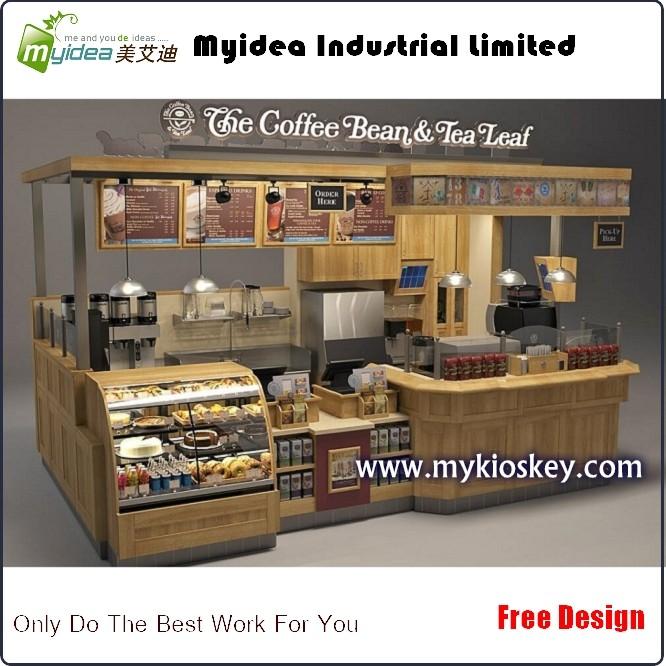 Snack Kiosk With Modern Look Mall Kiosks Food Kiosks