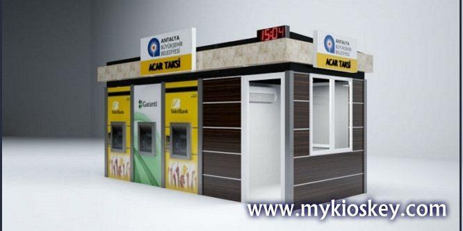 Modern outdoor food kiosk | Mall Kiosks | Food Kiosks