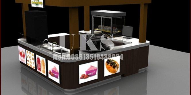 snack kiosk| fast food kiosk design for shopping mall