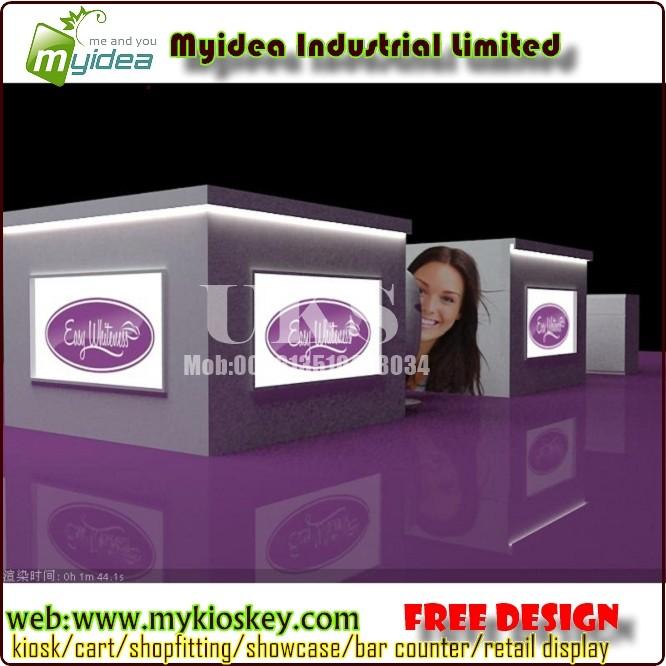 teeth kiosk