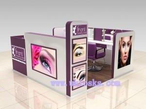 eyebrow kiosk