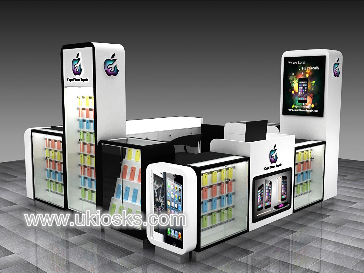 New design mobile cell phone kiosk design for sale for Mobel design sale