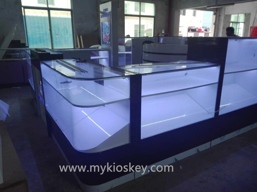 jewelry display kiosk