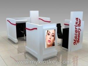 eyebrow kiosk manufacturer