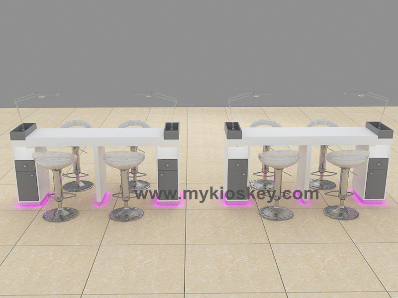 wooden salon furniture