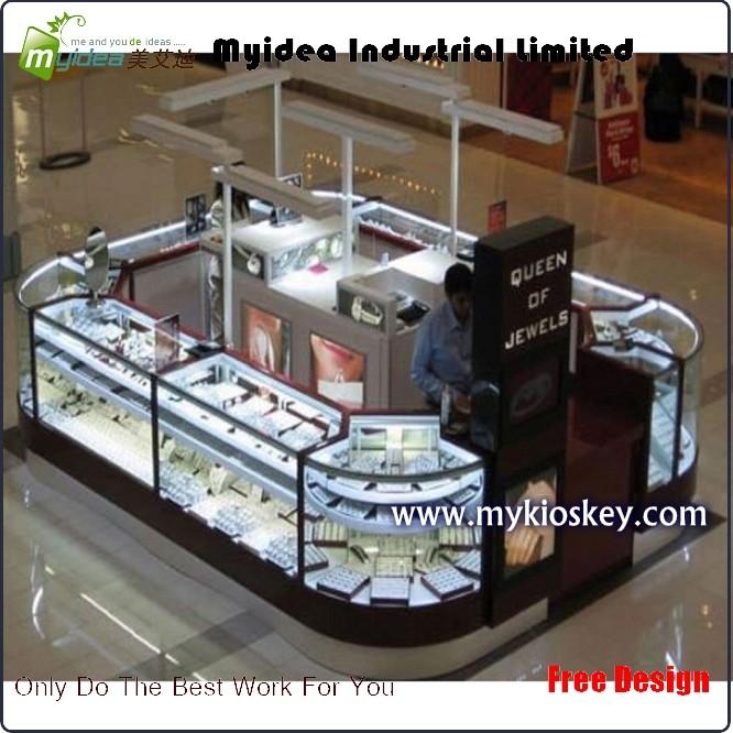 Glass Jewelry Display Showcase Jewelry Kiosk Furniture