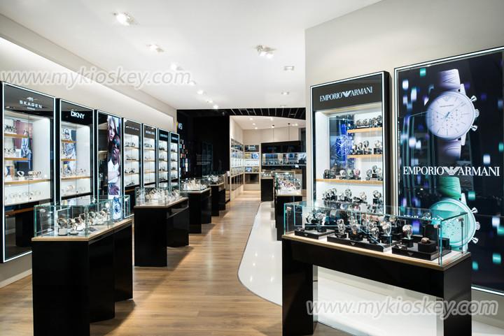 watch store design