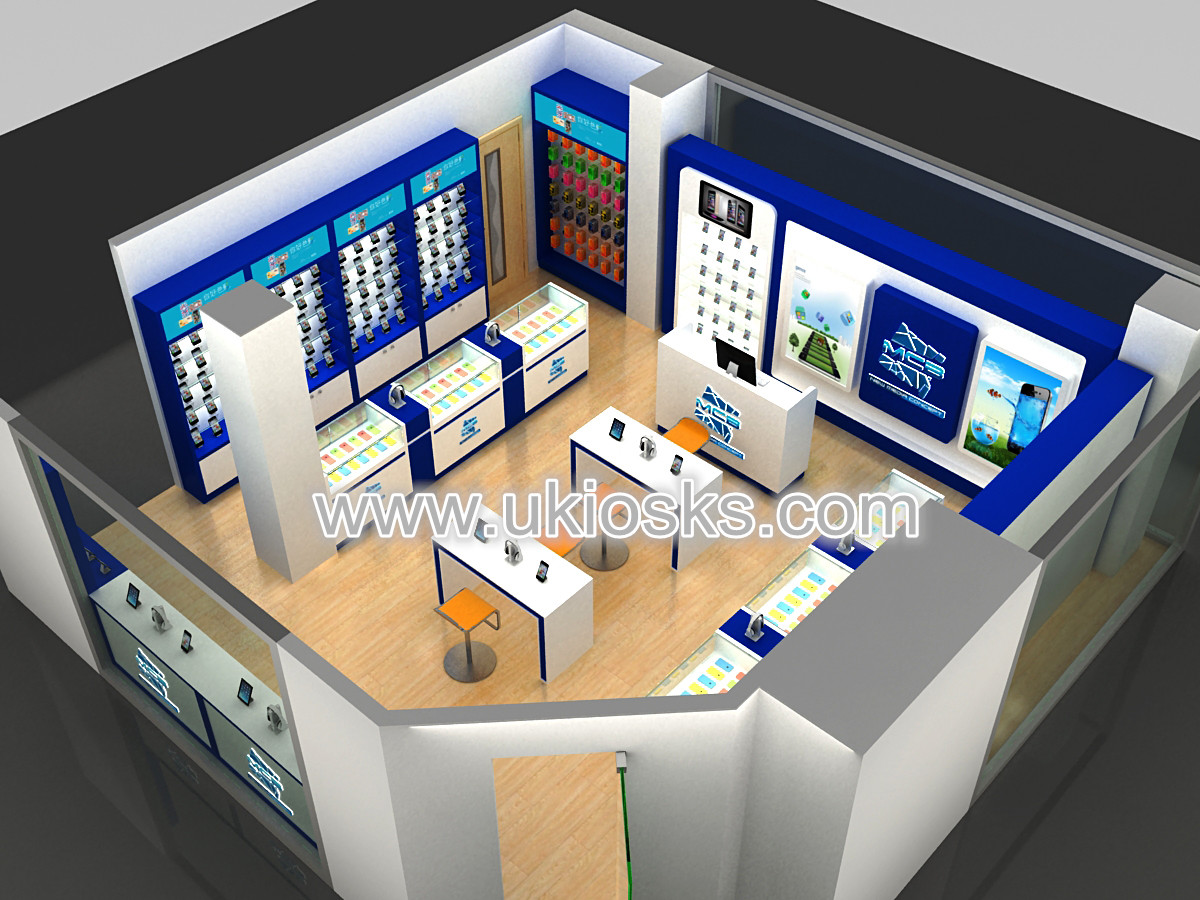High end customized phone repair shop design cell phone for Mobel onlineshop design