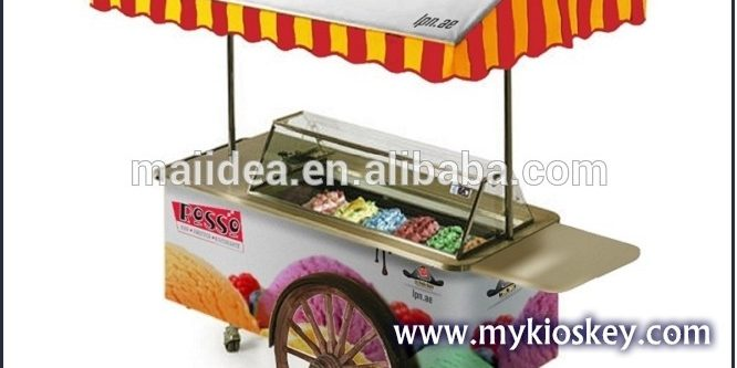 Ice Cream Cart For Sale >> Www Mykioskey Com Wp Content Uploads 2017 06 Mini