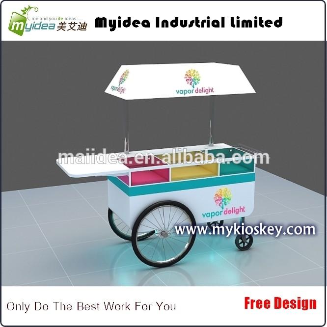 Mini-mobile-Ice-cream-cart-and-ice