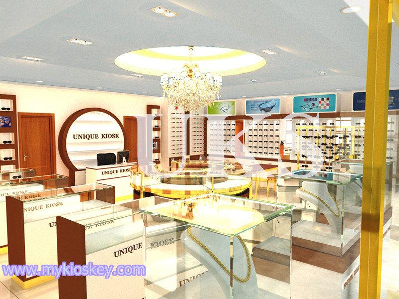sunglasses shop furniture