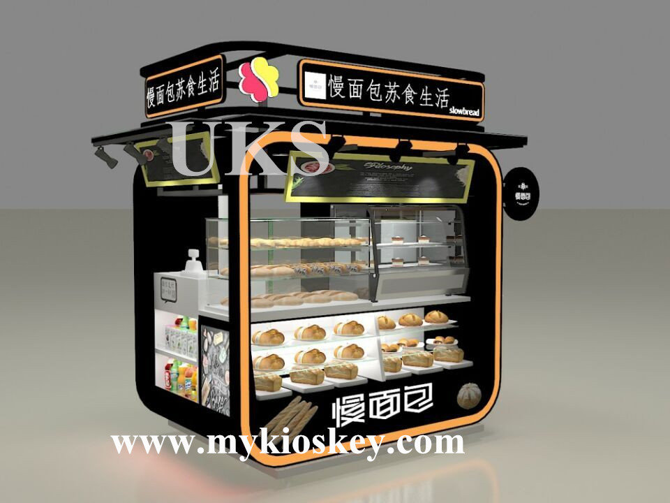Outdoor Food Station Bakery Cupcake Kiosk