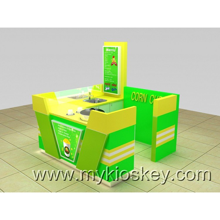 mall corn kiosk