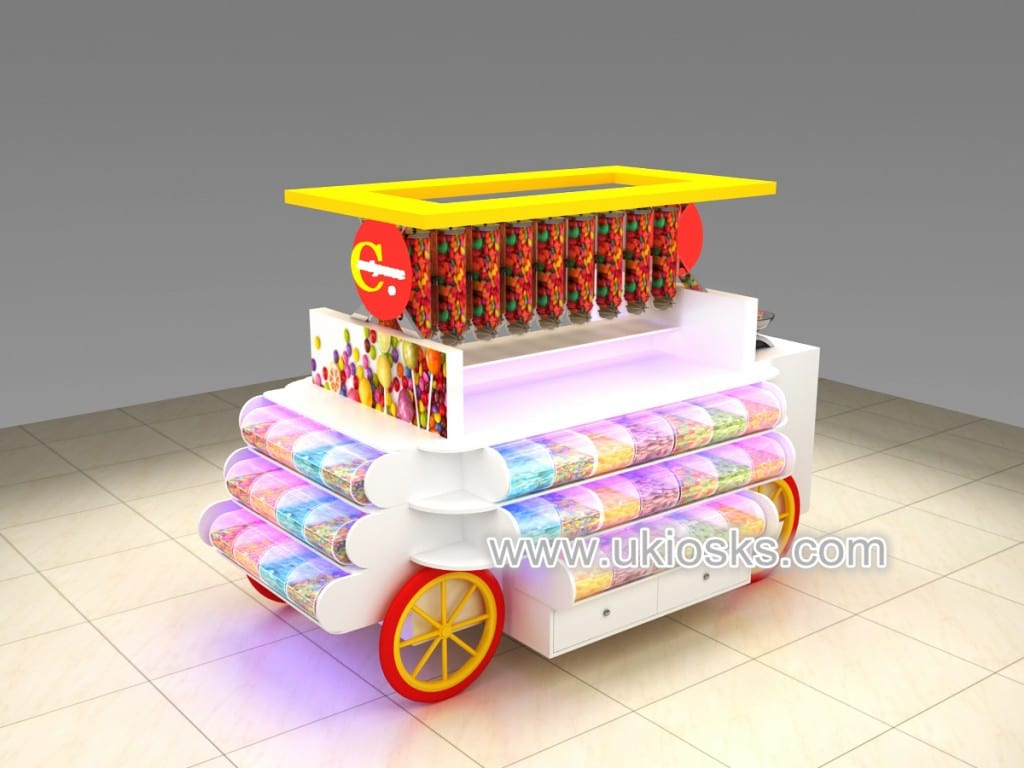 candy kiosk design