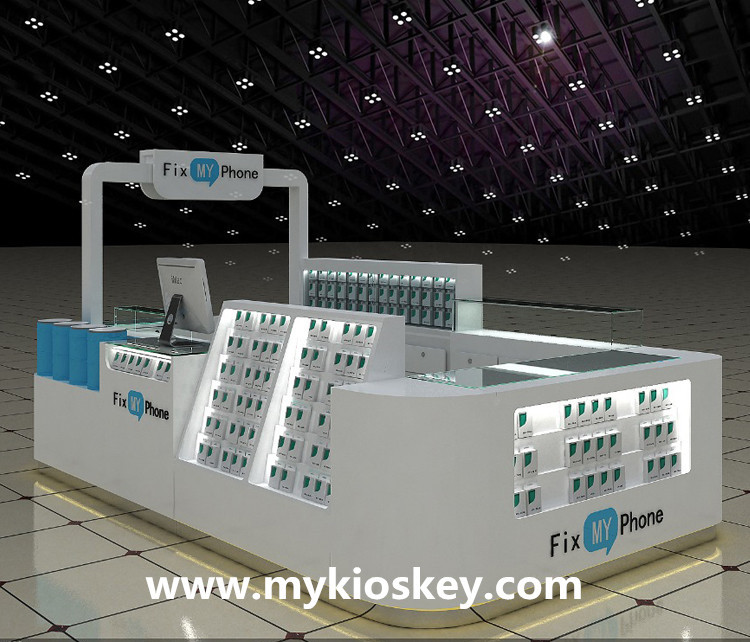 SIM card display kiosk