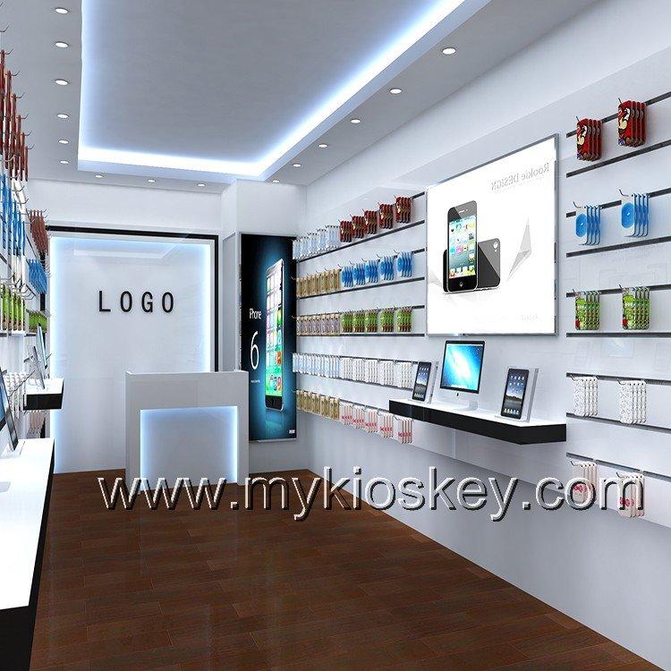phone shop interior decoration design