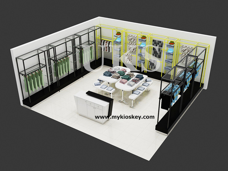 garment shop interior design