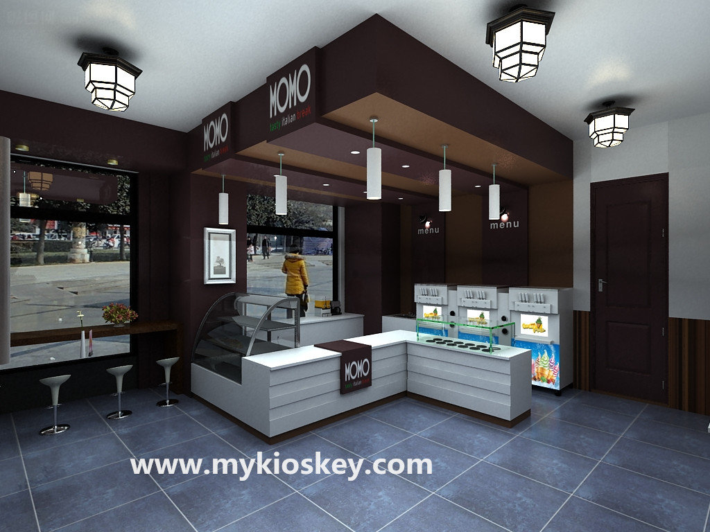 Factory Custom Made Ice Cream Shop Furniture Ice Cream