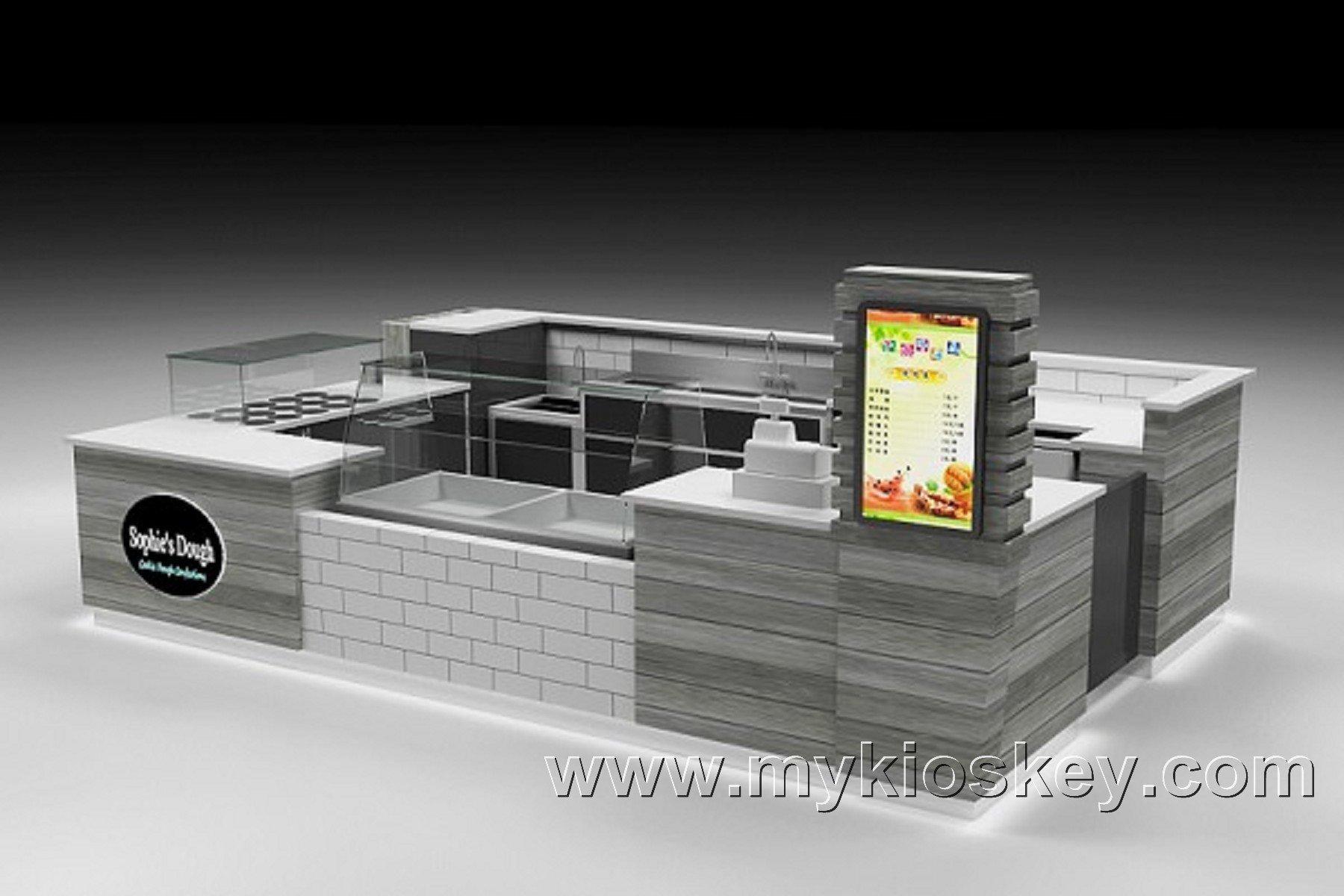 yogurt food kiosk