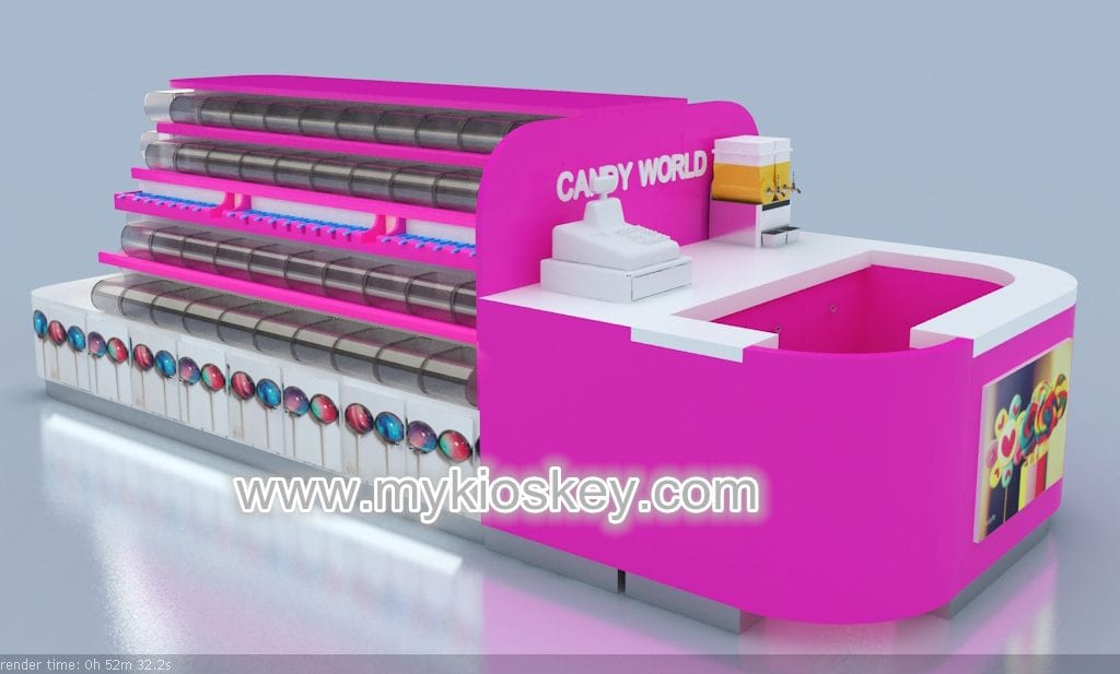 customized candy kiosk