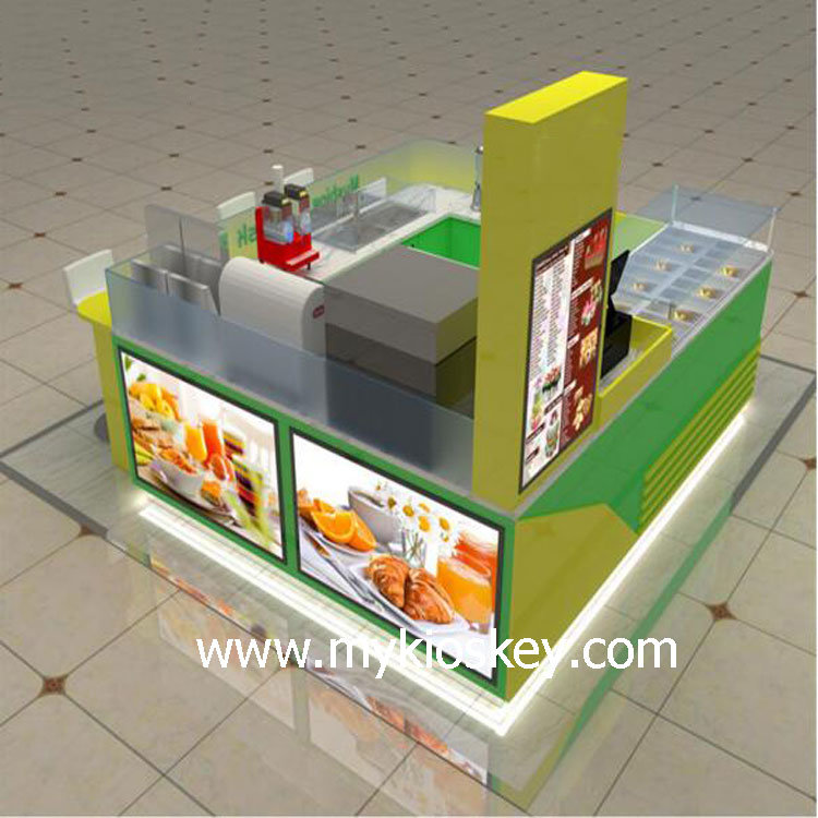 mall dessert vending booth