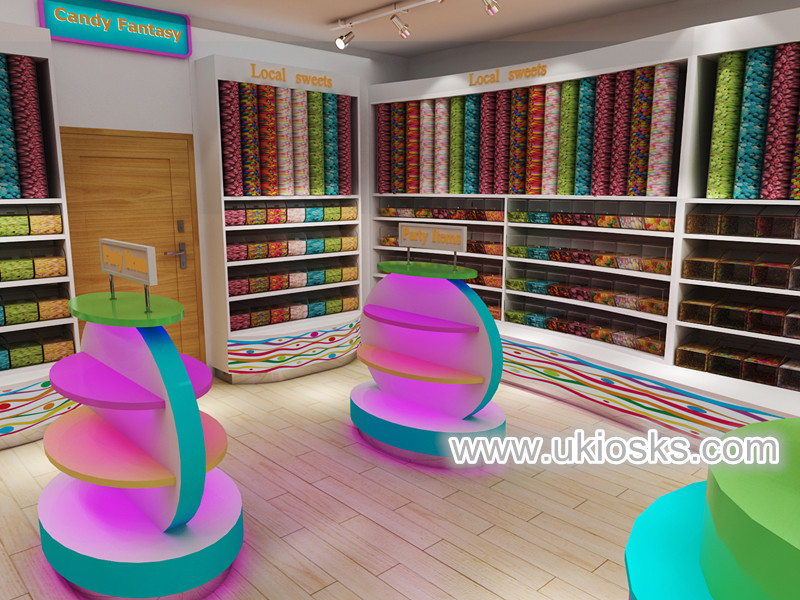 Wooden Candy Store Furniture Chic Candy Store Display