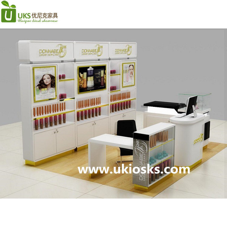 mall cosmetic kiosk