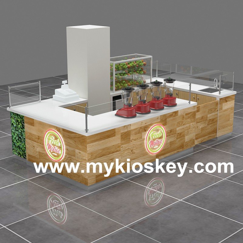 fruit juice kiosk