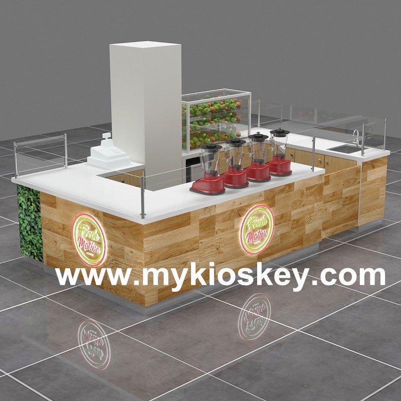 fresh juice kiosk