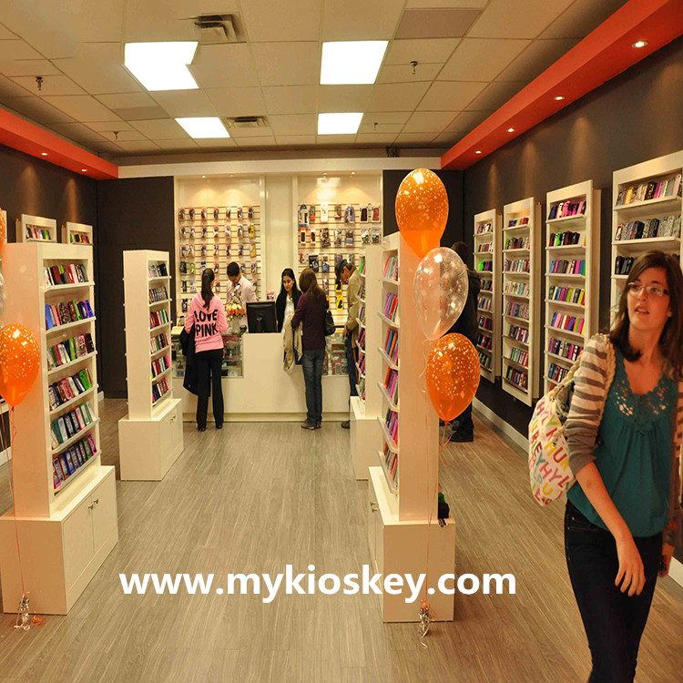 Mobile Phone Shop Interior Design For Accessories Display