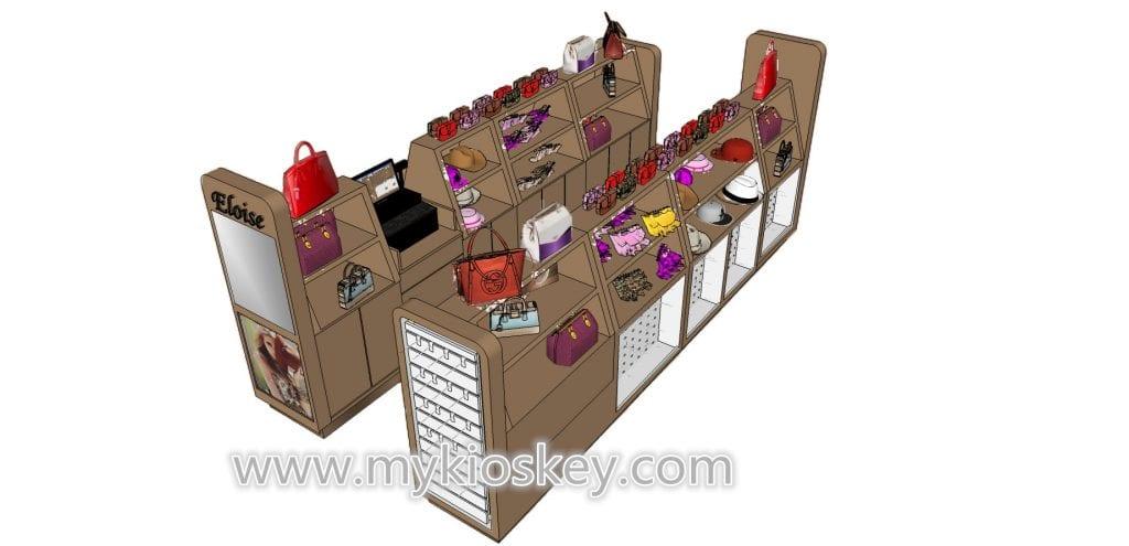 handbag display kiosk