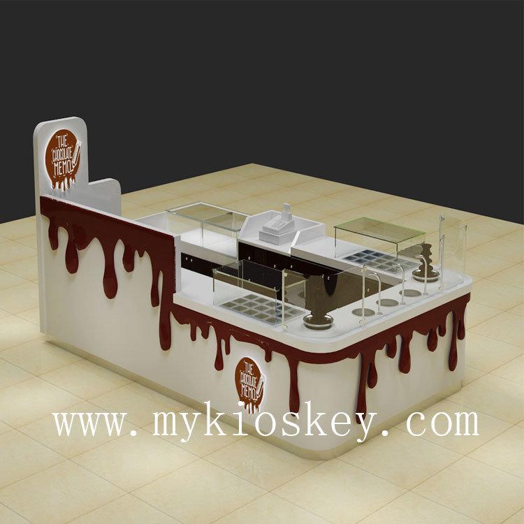 mall chocolate dessert kiosk