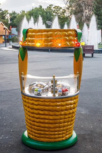 sweet corn stall