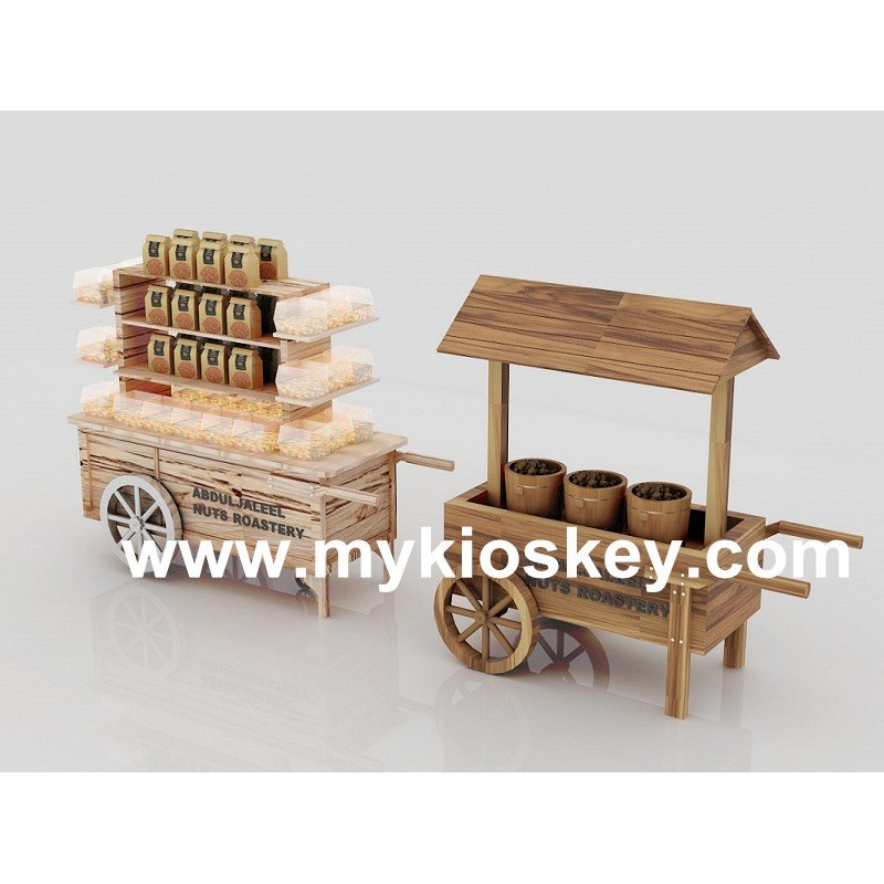 sweet candy cart