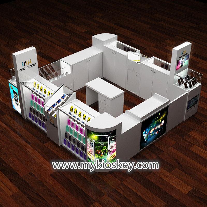 mall kiosk cell phone repair