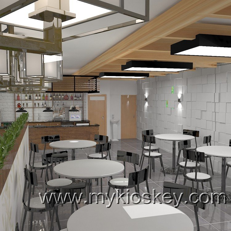 mall coffee shop design