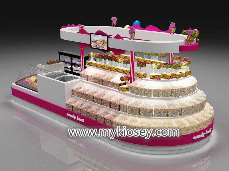 sweet candy kiosk