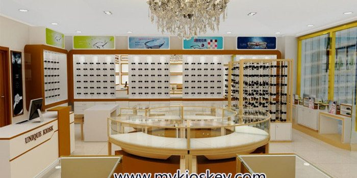 Luxury Jewelry Shop Interior Design With Jewelry Showcase Display