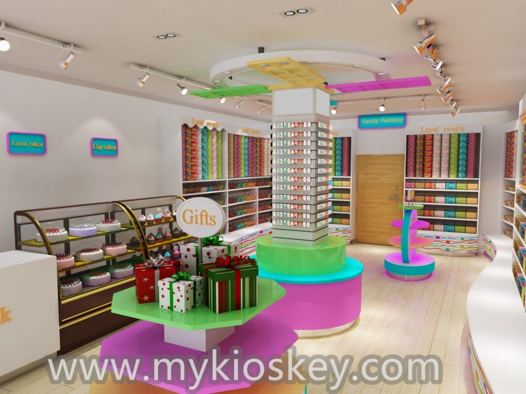 candy shop interior design