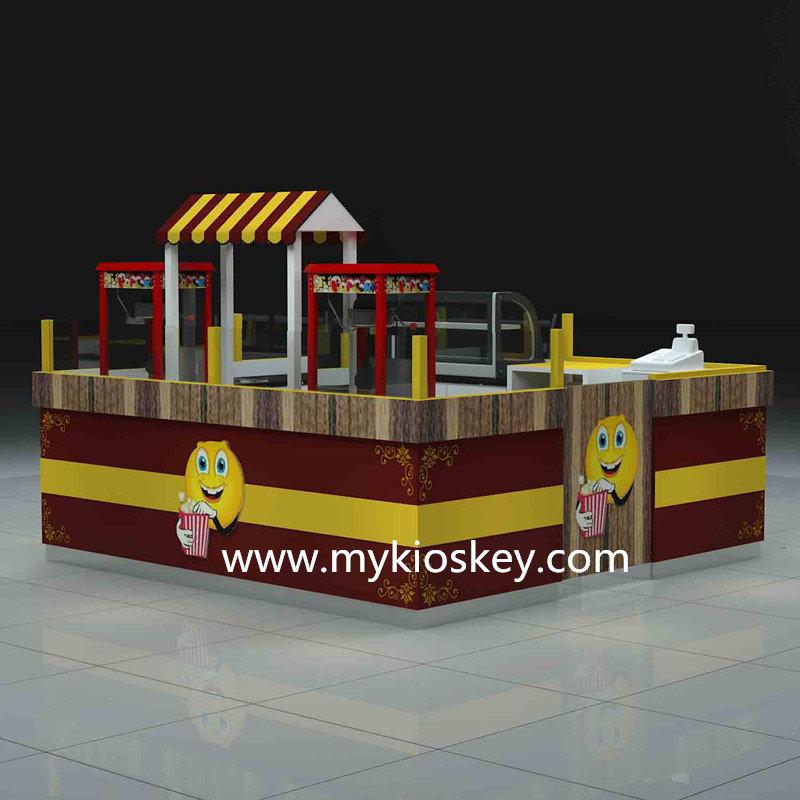 mall popcorn kiosk