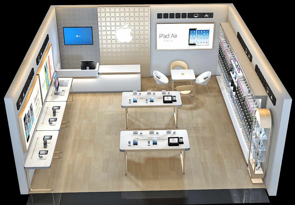 phone experience store