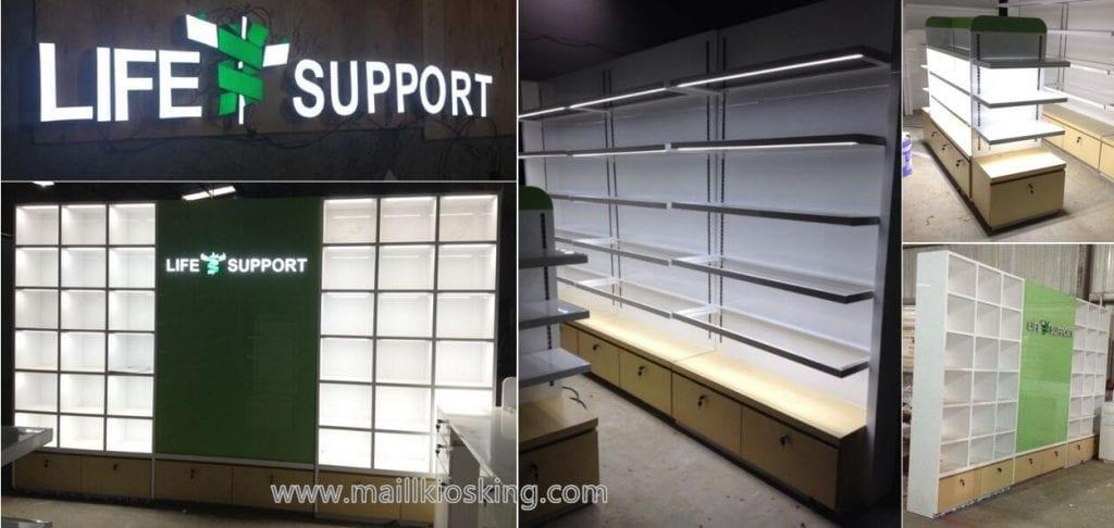 Retail Pharmacy Shop Furniture