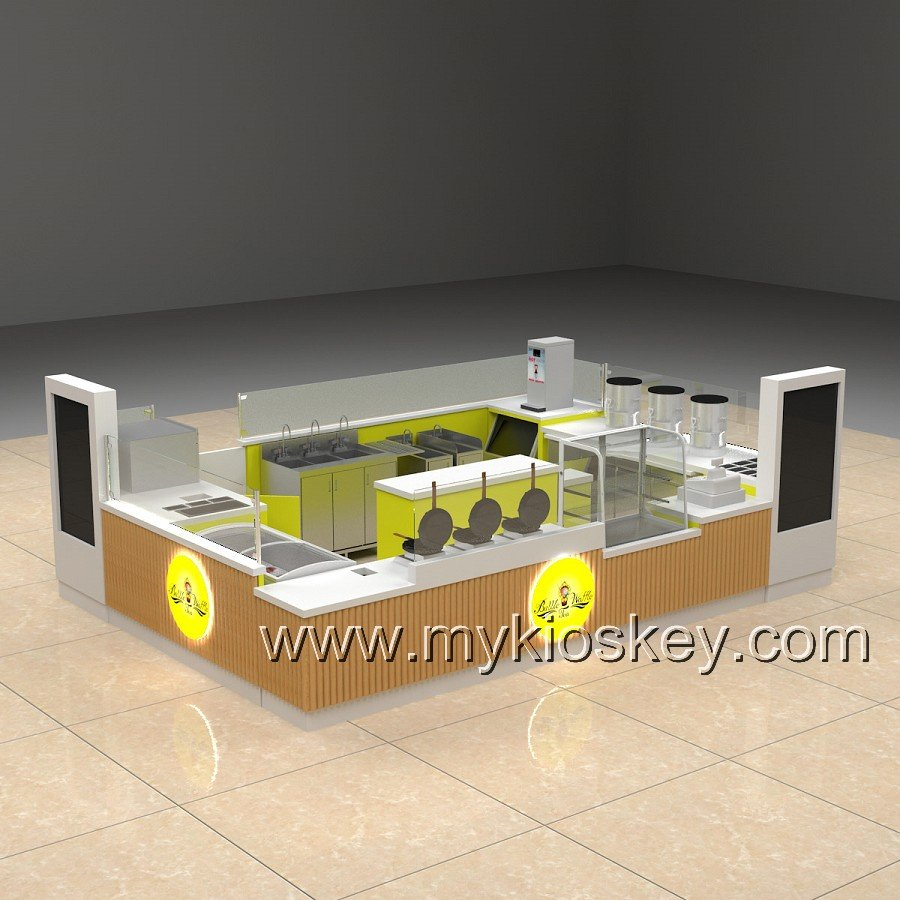 egg waffle kiosk